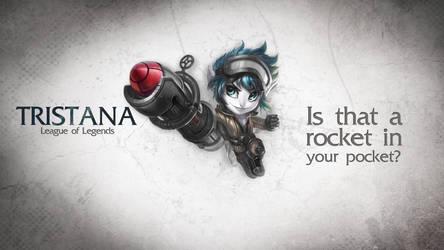 League of Legends Wallpaper - Tristana