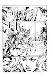 Inhuman page 3 by mad! inked by supernoobinks