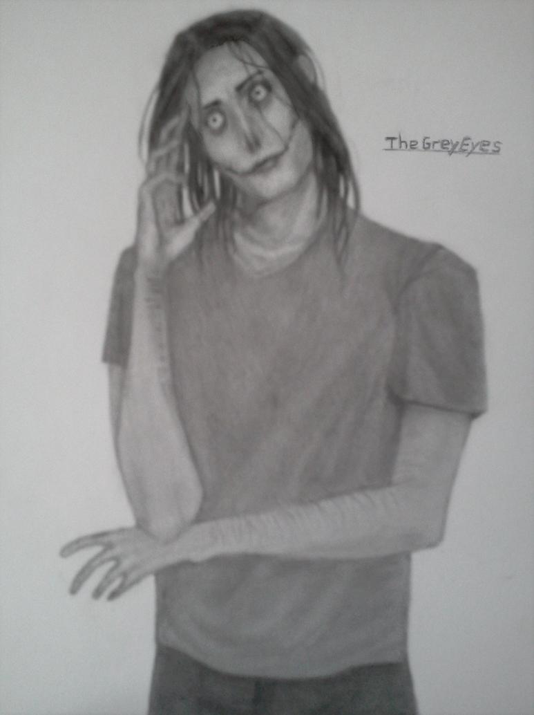 Jeff the killer by TheGreyEyes