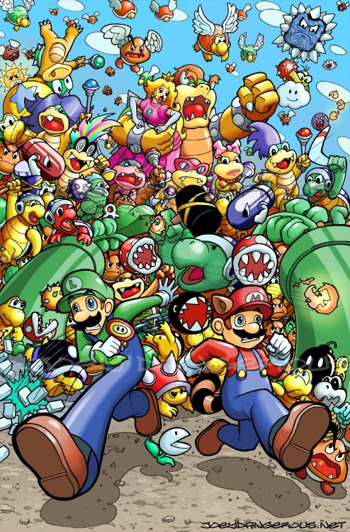 Super Mario Bros. 3 by JoeOiii