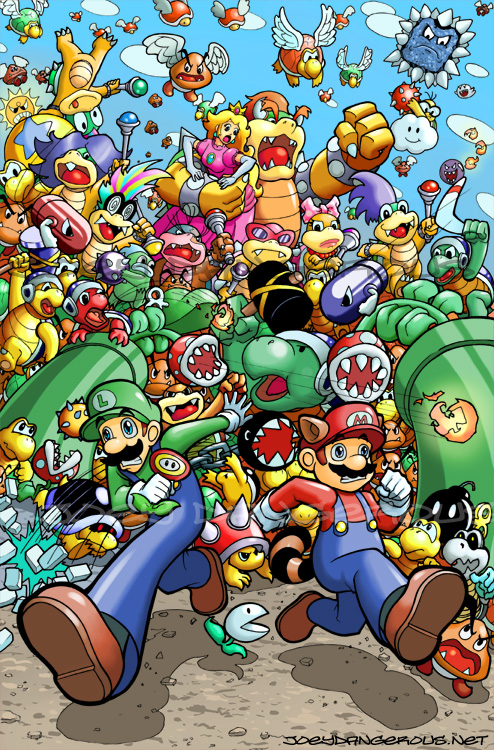 Super Mario Bros 3 By JoeOiii On DeviantArt