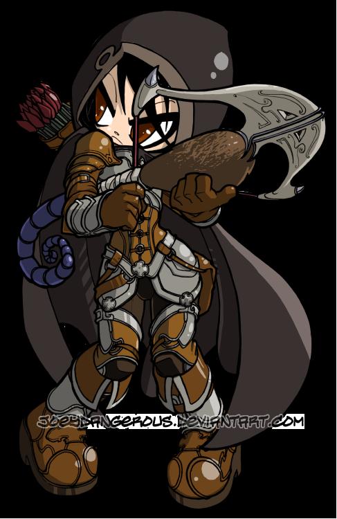 Diablo 3 Demon Hunter by JoeOiii