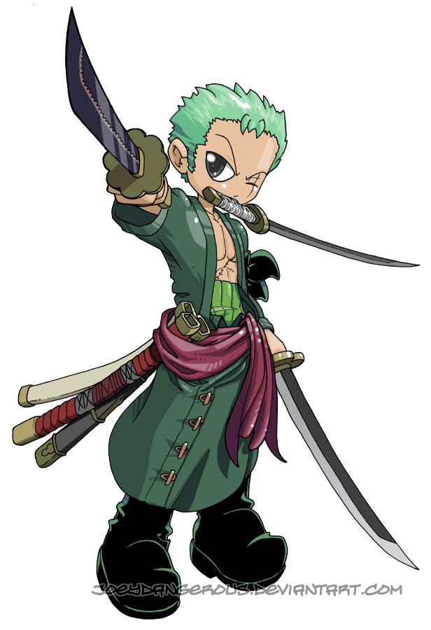 Roronoa zoro by joeoiii on deviantart - One piece logo zoro ...