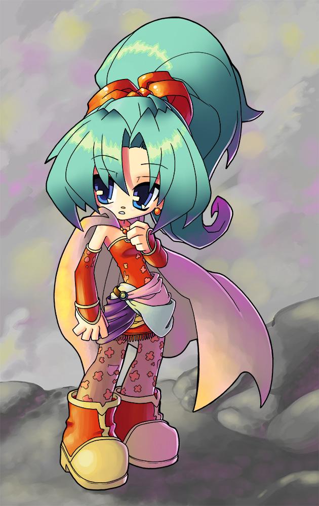 Final Fantasy VI - Terra by JoeOiii