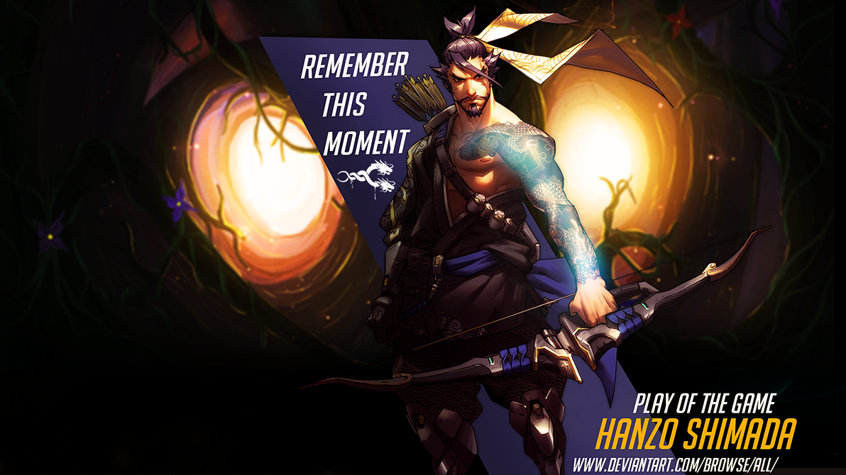 wallpaper hanzo shimadak4mil0rd on deviantart