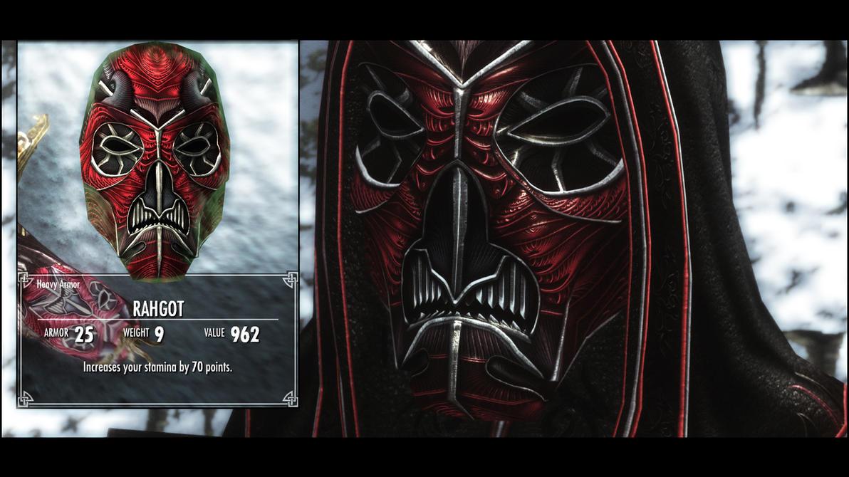 Rahgot Mask In Game by pondcypress