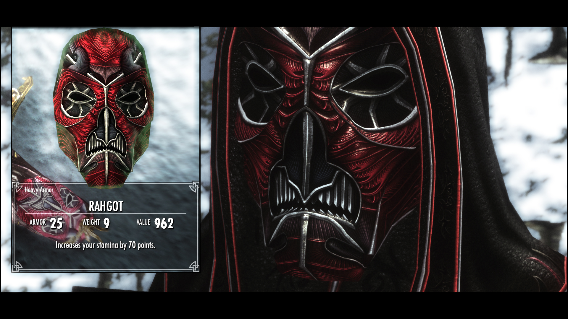 Rahgot Mask In Game by pondcypress