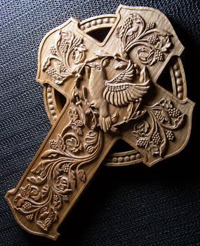 Cross in Butternut