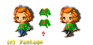 Fantage ~ Candy Cane Sweaters