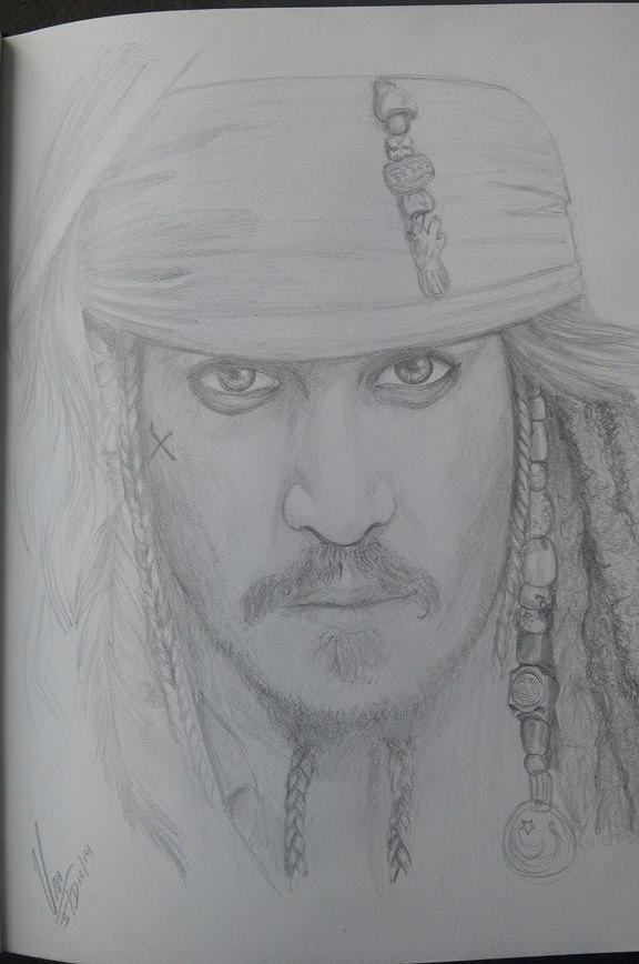 Captain Jack Sparrow by Angel-Shinigami