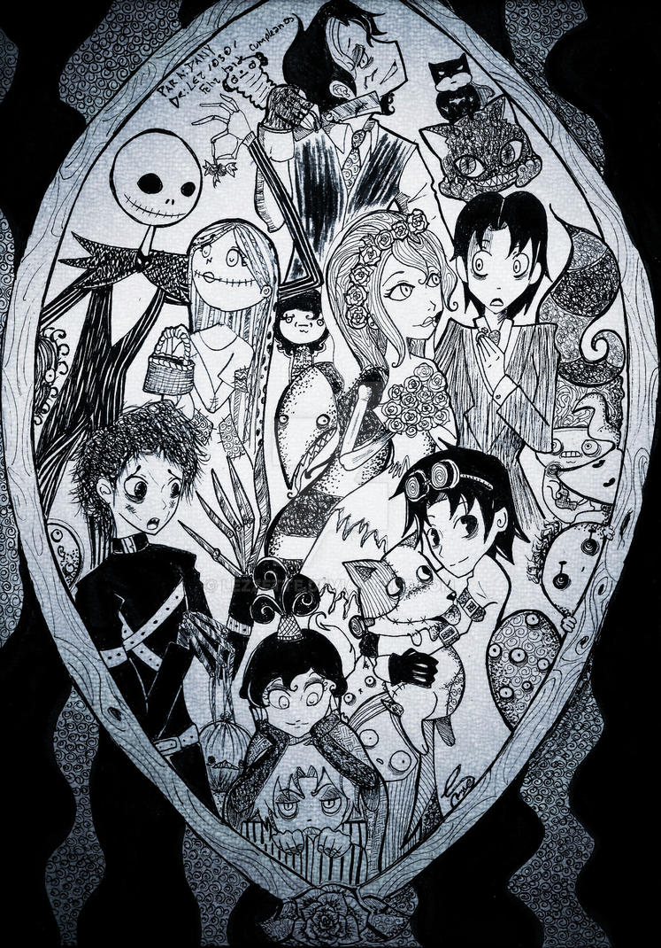 Tim Burton Tribute by Lezzette