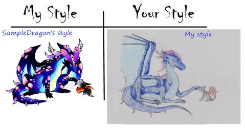 My Style Your Style Challenge: Ice vs Fire