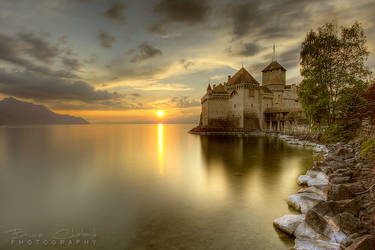 A fairytale Castle (Chateau de Chillon) by BrunoCHATARD