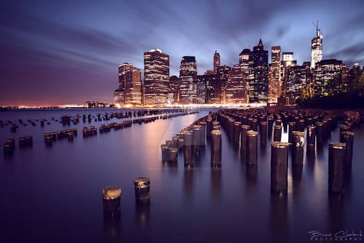 The magic lights of New York