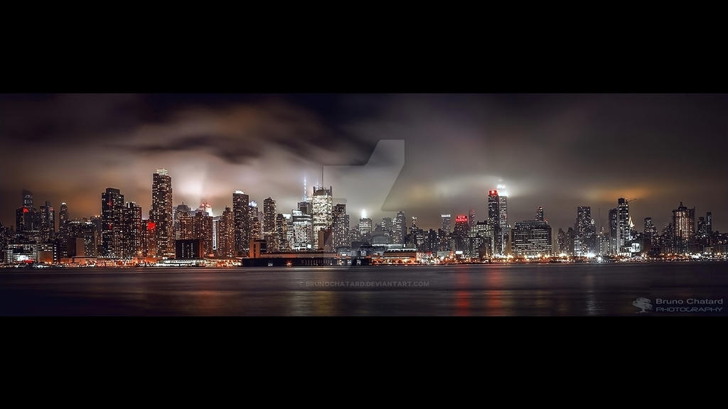 The misty dreams of the city which never sleeps by BrunoCHATARD