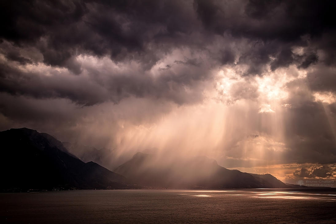 Storm painter III by BrunoCHATARD