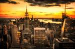 Orange New York (High in the Sky II)