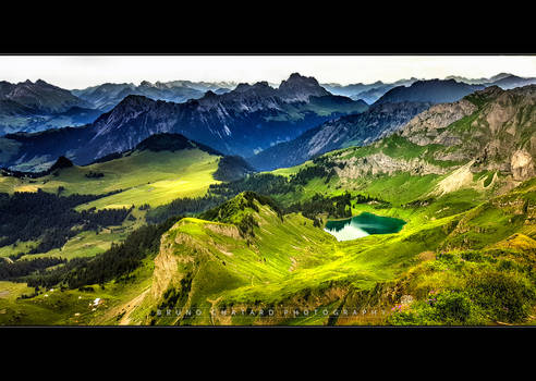 LOST in the GREEN (Lac Lioson from Pic Chaussy)