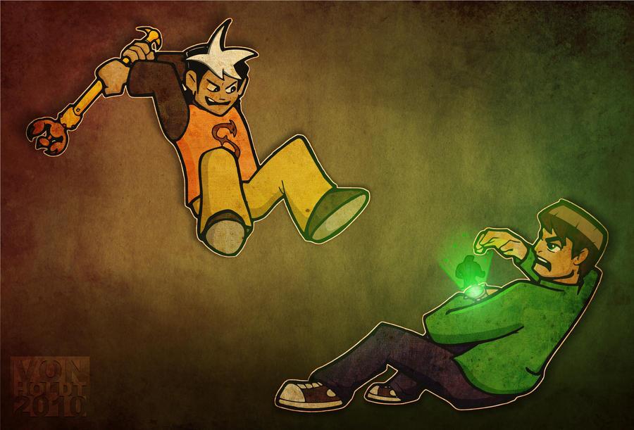 Zak vs Ben color by vonholdt