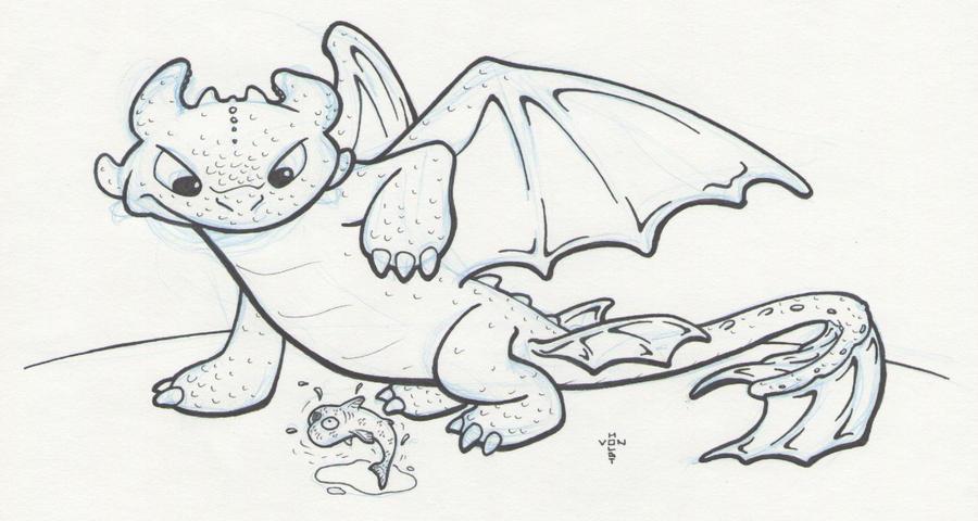 Toothless the Dragon by vonholdt on DeviantArt