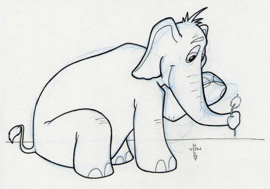 Horton Hears a Who by vonholdt on DeviantArt