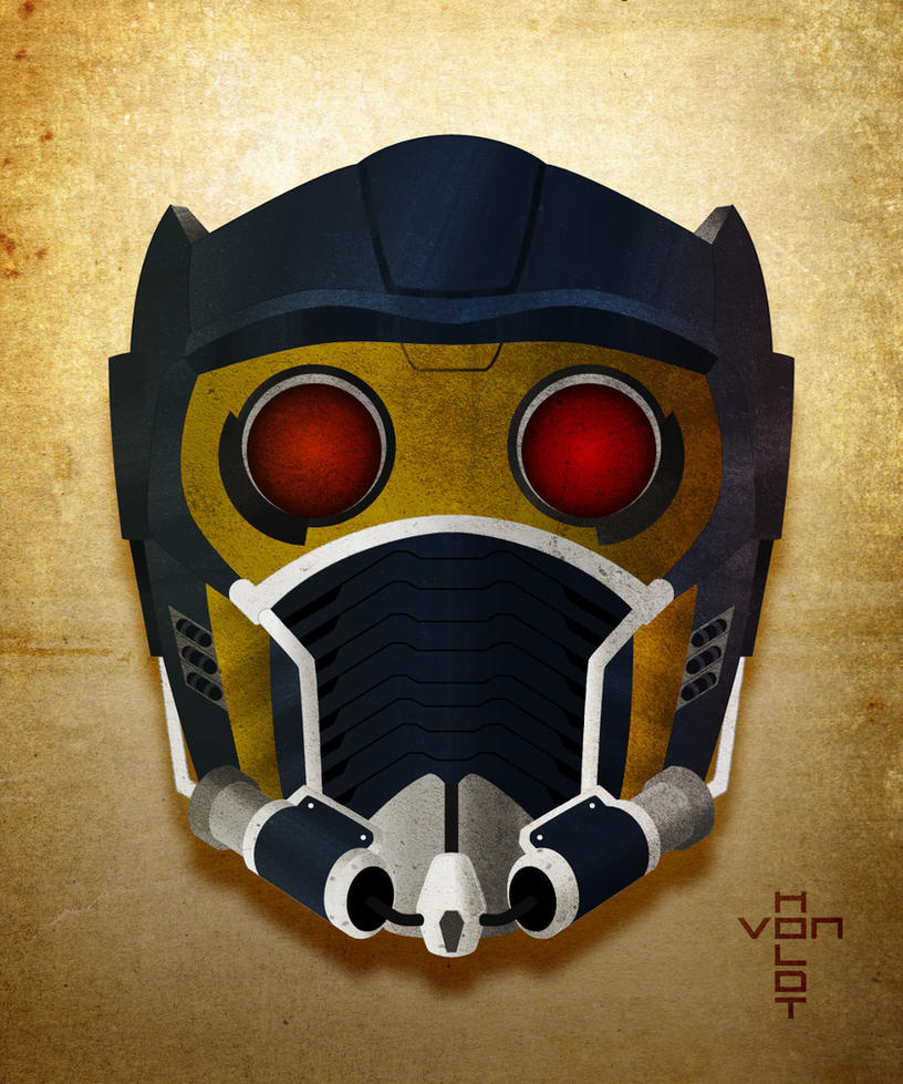 Starlord Helmet by vonholdt