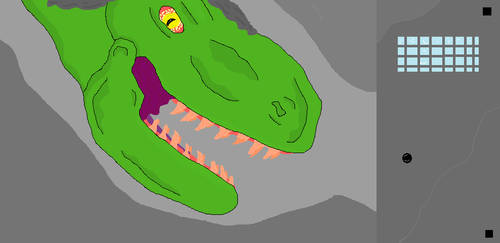 TyrannosaurusInFactory by TyrannosaurGameing