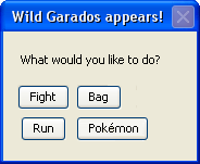A wild Garados appears by mitchomegrante