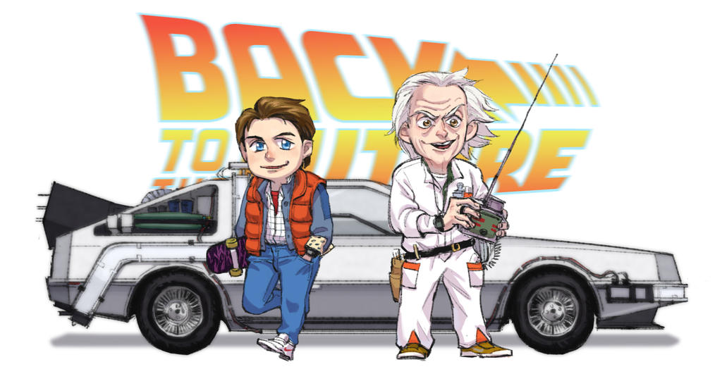 Back To The Future! By ParamasX On DeviantArt