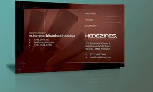HeDezines Business Card Final by HeDezines