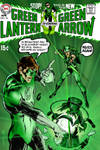 Green Lantern 76 Neal Adams Recreation