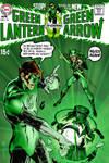 Green Lantern 76 Neal Adams Recreation