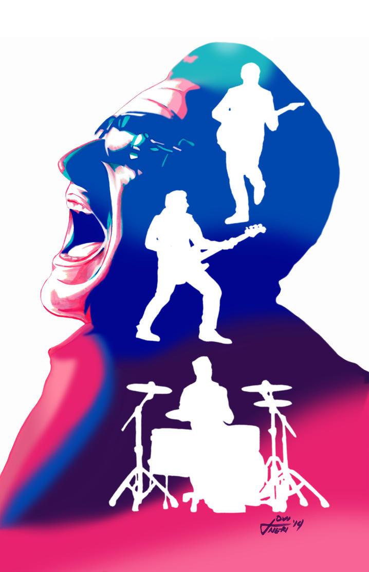 Wallpaper iphone u2 - U2 Songs Of Innocence Echoes Apple Itunes By Jovigolf