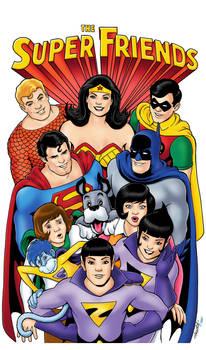 Superfriends Kevin Maguire Digital Colors