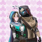 Hey..Take me with you~ (Cayde-6 x Oc) by CuteArtTime