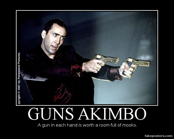 Guns Akimbo by Kersey475