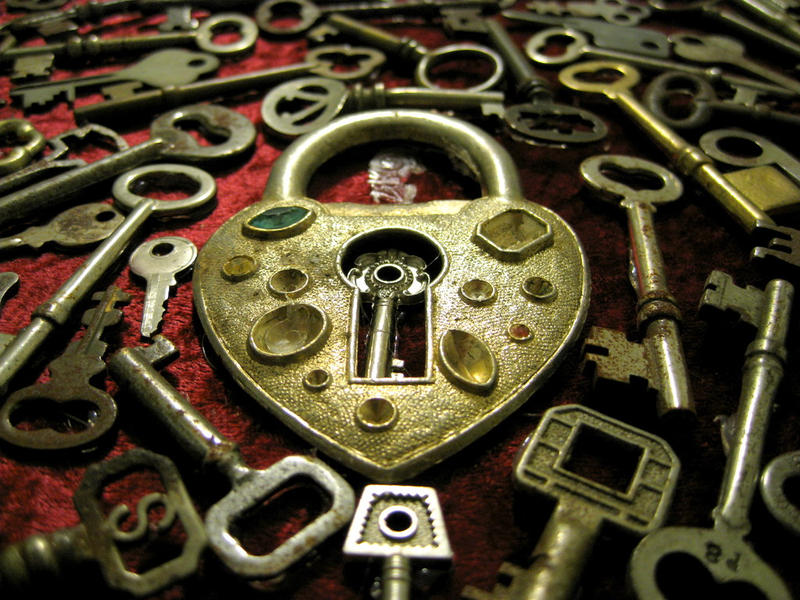 Heart Keys by dementedviking