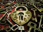 Heart Keys by dementedviking