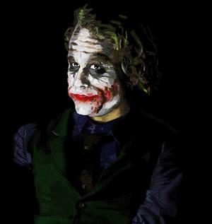 MSPaint Joker Freehand II