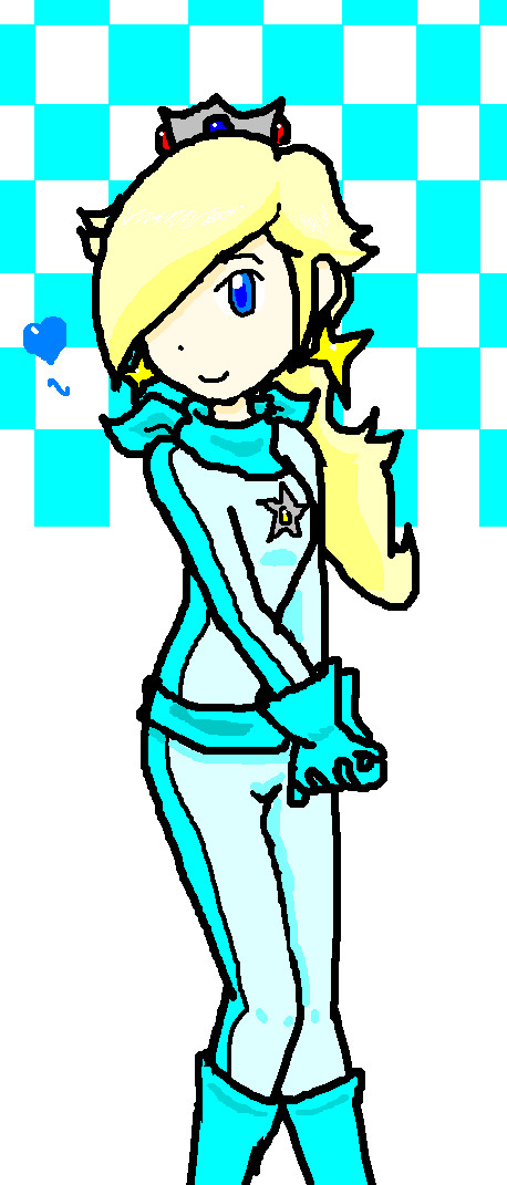 Miss Biker Rosalina by Pikaripeaches