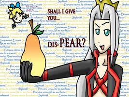 DIS-PEAR by Pikaripeaches