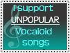 Unpopular Vocaloid songs