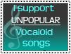 Unpopular Vocaloid songs by Pikaripeaches