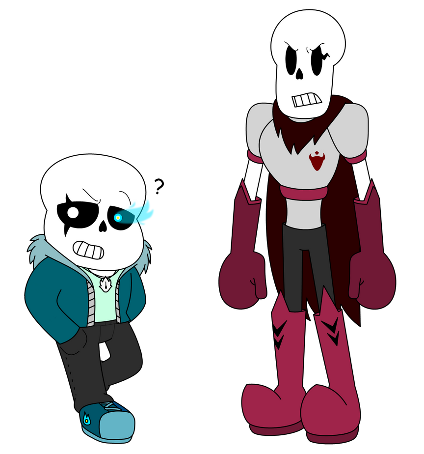 how to draw papyrus and sans