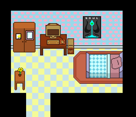 Chara S Room In Undertale