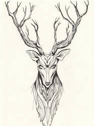 Deer by KelHur