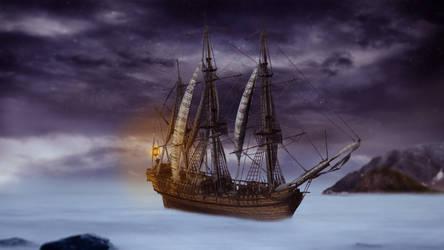 Lost ship by KelHur