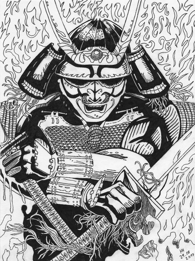 Samurai by KelHur