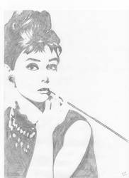 Audrey Hepburn by KelHur