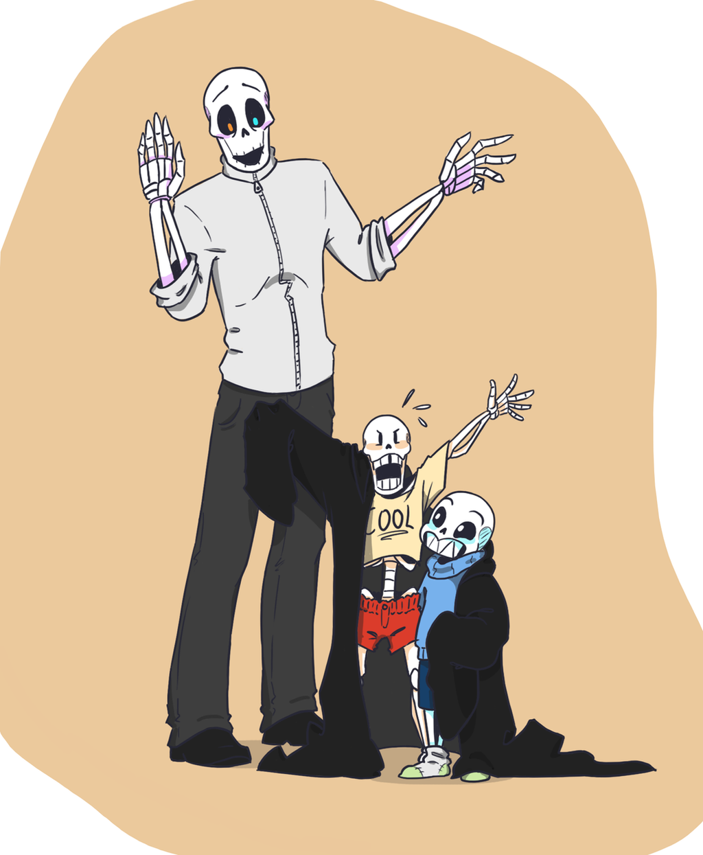 Skele dad By QueensDaughters On DeviantArt